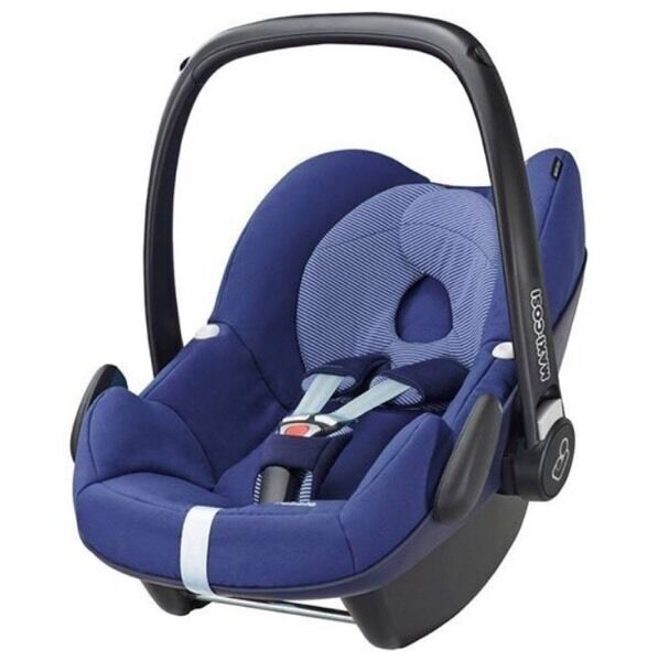 MAXI COSI PEBBLE CAR SEAT RIVER BLUE BARGAIN PRICE £80