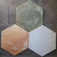 Must Sell 3 Colors Hexagon Porcelain Tiles $0.49 CENTS PC ONLY!