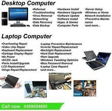 LAPTOP,DESKTOP,INTERNET SLOW,PRINTER REPAIR AND SERVICE Loddon Area Preview