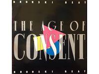 Bronski Beat - The Age of Consent vinyl album