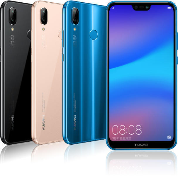 "Open Box Huawei P20 Lite ANE-LX3 32GB 5.8"" LTE Factory Unloc"