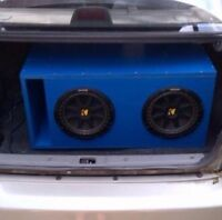 Kicker Subwoofers Car Audio