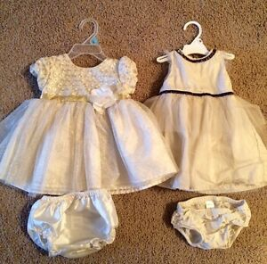 Excellent condition Holiday infant dresses!