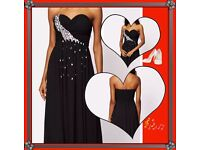 Eva & Lola black women's dress size 12/14 prom evening dress