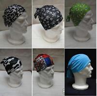 6 pezzi bandana sottocasco foulard sciarpa fantasia bandane cappello estate  mare 5322a6c10ccf