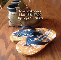Boys spring jackets and shoes
