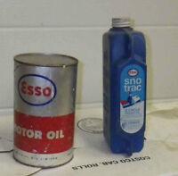 Vintage ESSO oil tins