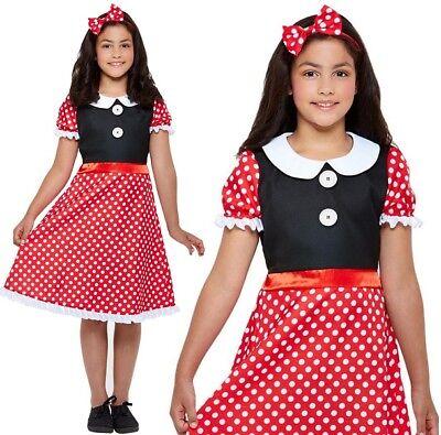 nie Süße Maus Kostüm Kinder Outfit von Smiffys (Kostüme Von Minnie Maus)