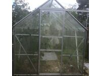 Large 16 foot double greenhouse. £150