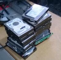 Various Hard drives - IDE & Sata