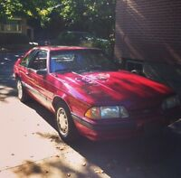 1991 Mustang LX 4 cylinder