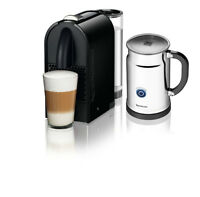 Nespresso U D50 Black + milk frother