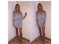 Dove grey Playsuit