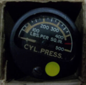3 - CYLINDER PRESSURE GAUGES  0 to 500 lbs. NEVER USED Belleville Belleville Area image 2