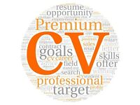 Do you need a new CV ? Professional CV Writing - Great Reviews - All Sectors Covered - Help