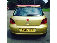 307 12Month Mot 1.2 litre 12Month tax LED light front lady owner