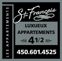 Les Appartements St-François (Centre-Ville de Valleyfield)