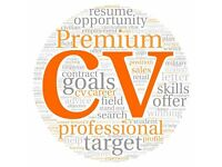 CV Writing & Updating - Professional CV Writer - 420+ Great Testimonials - FREE CV Review - Help