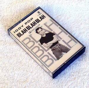 Iggy Pop - Blah Blah Blah Cassette 1986 JG1 Eastern Creek Blacktown Area Preview