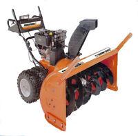 RAMASSONS GRATUITEMENT pour RECYCLAGE Souffleuse Tracteur