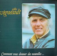 Gilles Vigneault : Disque Vinyle / Vintage Vinyl Record 1978