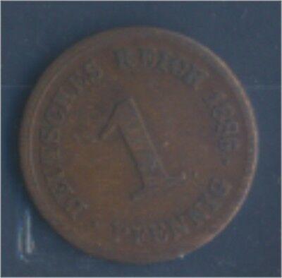 Deutsches Reich Jägernr: 1 1886 G sehr schön Bronze 1886 1 Pfennig (7849197