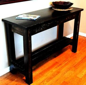 RECOVERY WOOD ENTRY/SOFA/CONSOLE/ISLAND COLLECTION TABLE