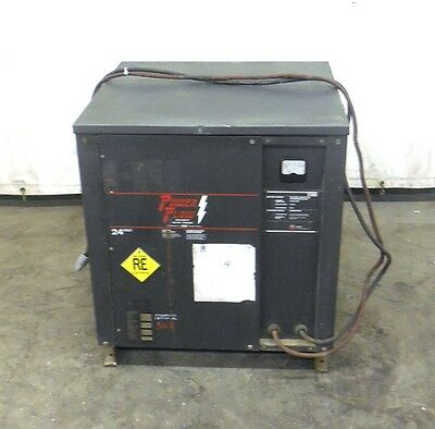 Powerflow Battery Charger 12h300c22 24 Volt 120 Amp 451-600 Amp Hours