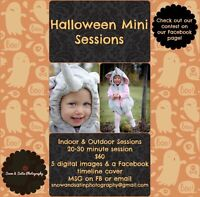 Halloween mini sessions - contest on Facebook page:)