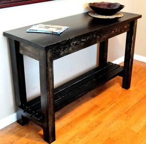 NEW SALVAGED RECLAIMED WOOD ENTRY/CONSOLE/KITCHEN ISLAND TABLE