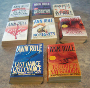 ANN RULE PAPERBACKS-PLUS NORA ROBERTS Kingston Kingston Area image 2