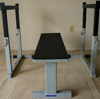 IronMind (Commercial) Flat Bench / Safety Spotters