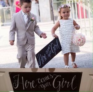 Wedding- Here comes your girl sign London Ontario image 1