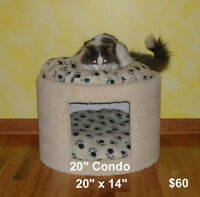 $60 · Brand New Large Cat Bed/Condo.
