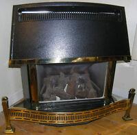 gas fireplace insert & chimney liner