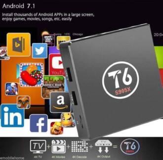 NEW 1GB/8GB T6 2017 Android 7.1 TV Box S905X Kodi Krypton 4K wifi