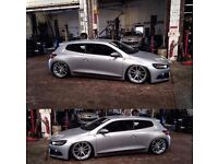 Volkswagen Scirocco 2.0 TSI Show Car Airride Airlift rotiform stanced lowered