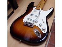 Fender Roadworn Stratocaster Strat (Fralin pickups, Wudtone trem, CG)
