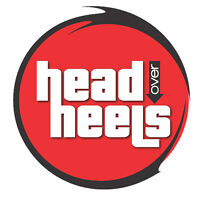 Book Head Over Heels For Your Wedding, Party Or Event !