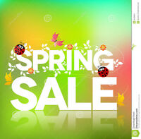 Mount Hope Annual Spring Sale