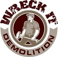 We do concrete demolition as well!!!