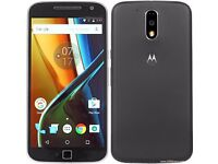 MOTO G4 PLUS UNLOCKED MINT CONDITION COMES WITH WARRANTY & ALL ACCESSORIES