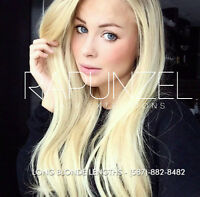 HUMAN Hair Extensions - Fusion, Weft, Clipins, Closures & Wigs