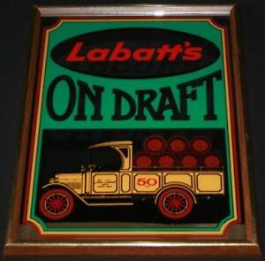 Labbatt's 50 On Draft Mirror Sign