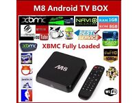 Fully Loaded Service For M8 Box