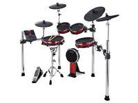 Alesis crimson electronic drum kit + extras