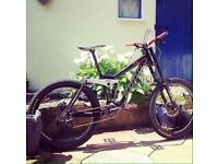 2010 kona stinky downhill high spec dh full suspension bike