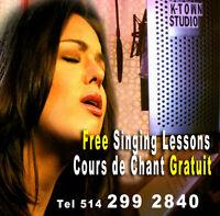 FREE Studio & Singing Lessons