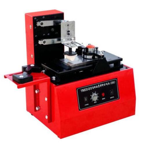 CE Electric Pad Printer Printing Machine Pad Printing T-shirt Ball Pen Light