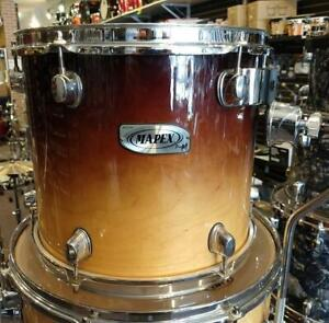 Mapex Pro M Maple Shell Kit Drum 13-16ft-18ft-24 - used-usagé